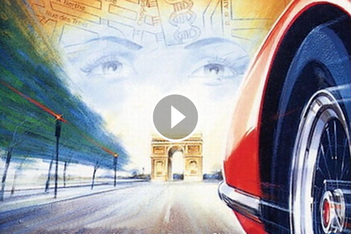 L'esbojarrada cursa, pel centre de París, una matinada d'un diumenge d'agost