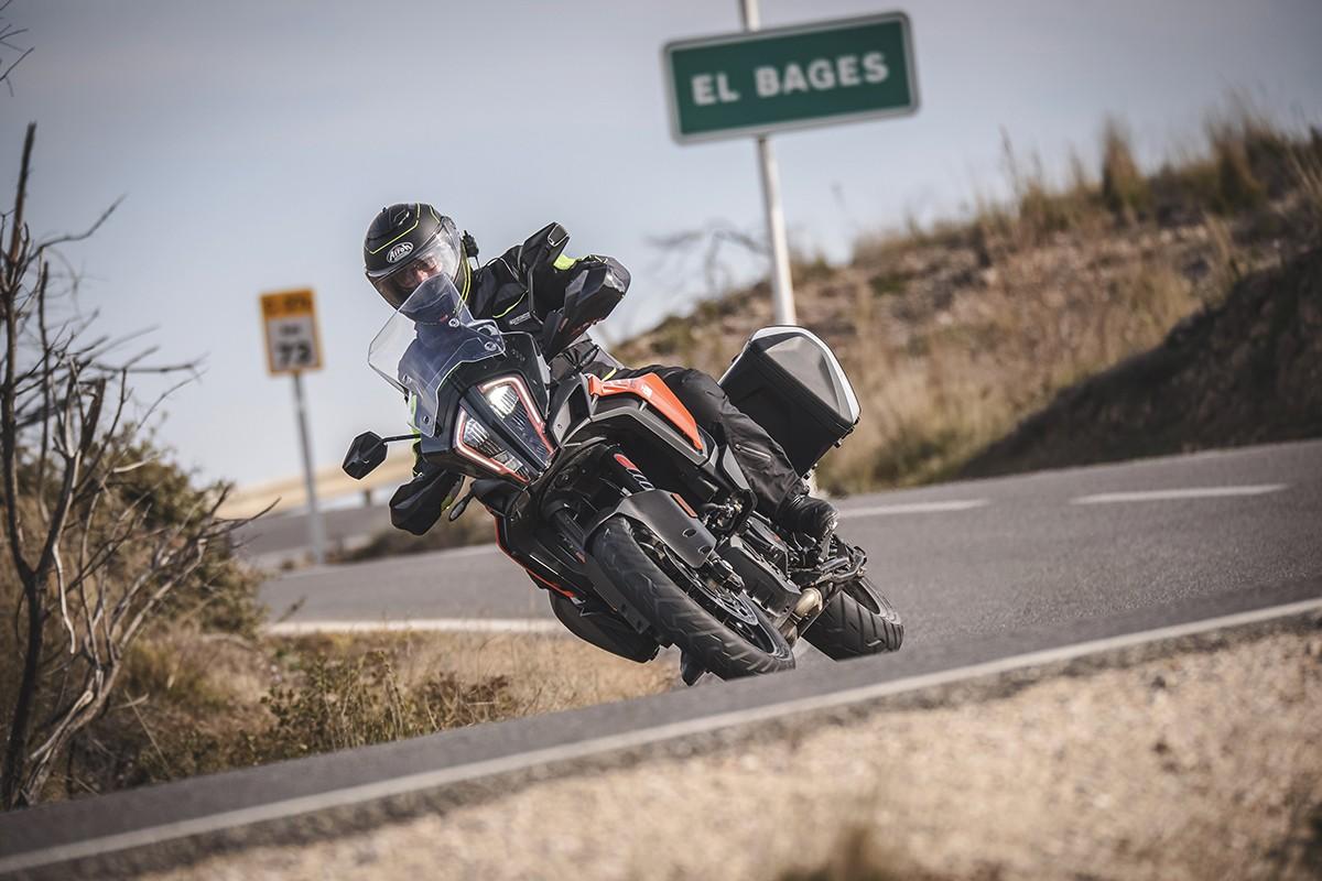 La KTM 1290 SuperAdventure en acció