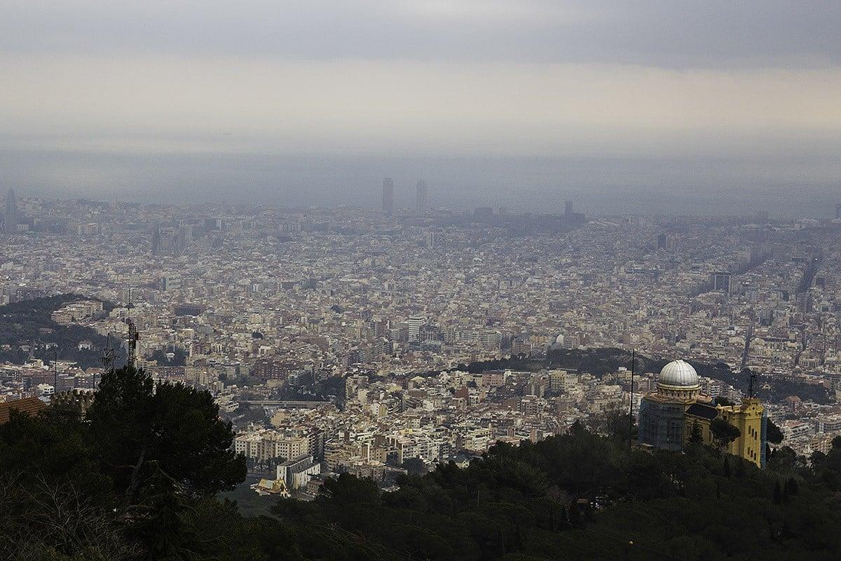 Barcelona, vista des de Collserola