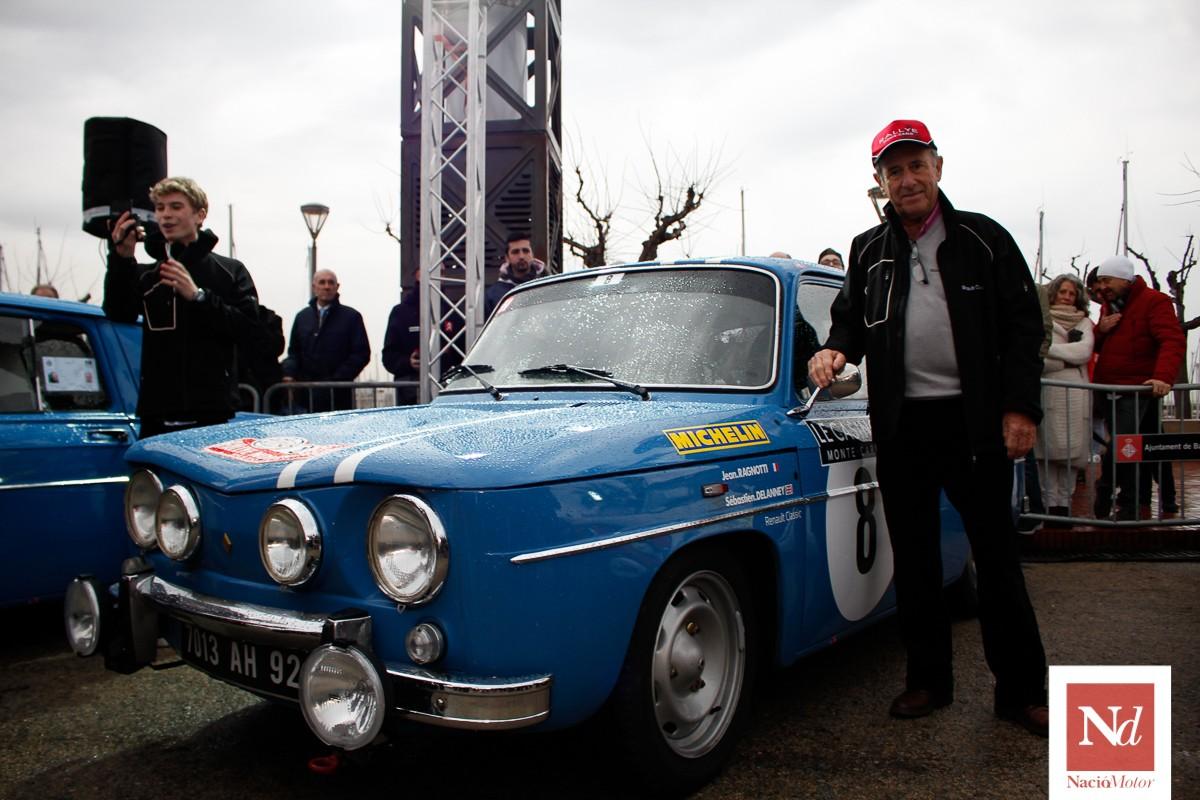 Jean Ragnotti a la sortida del Monte-Carlo històric a Barcelona