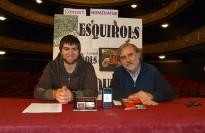 Vés a: Els Esquirols es fan eterns en un teatre Conservatori de Manresa còmplice i emocionat