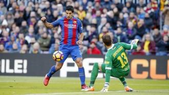 El Barça escombra el Las Palmas i es manté viu a la Lliga (5-0)