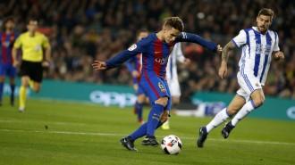 El Barça, a semifinals de Copa després d'imposar-se a la Reial Societat (5-2)