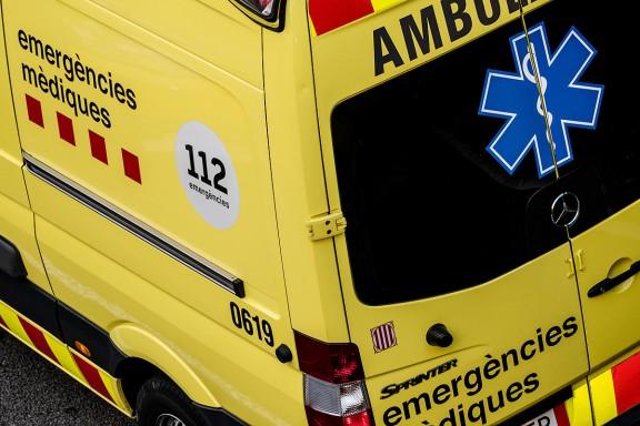 Mor un ciclista en un camí de muntanya a Sant Julià de Vilatorta