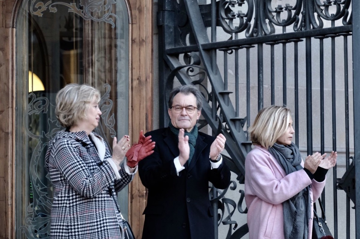 Artur Mas, Irene Rigau i Joana Ortega