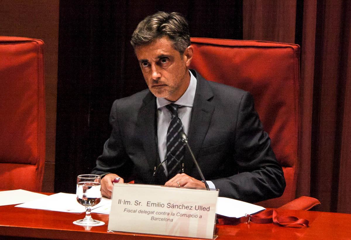 El fiscal Sánchez Ulled, en una compareixença al Parlament