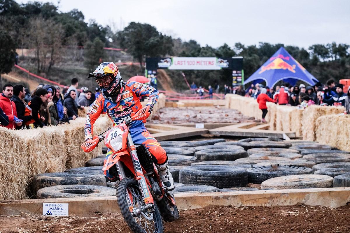 Josep Garcia amb la seva KTM