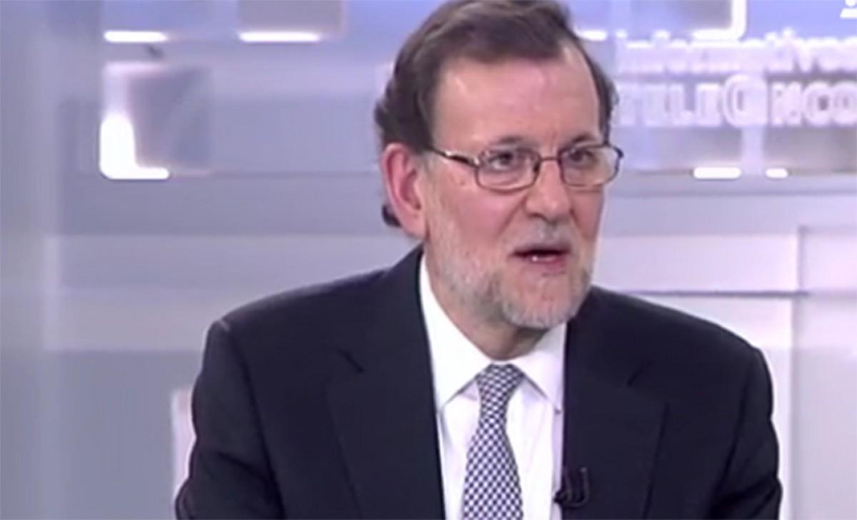 Mariano Rajoy, en l'entrevista a Telecinco