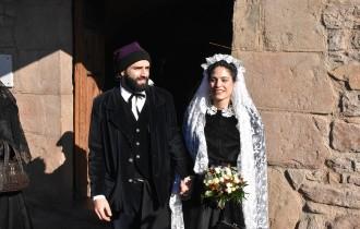La Festa dels Traginers de Balsareny viu per primera vegada un casament «de debò»