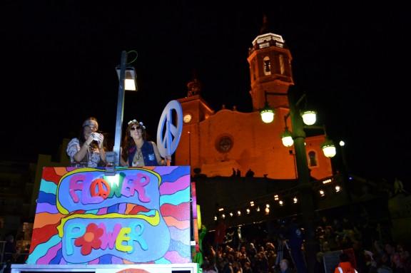Perilla el Carnaval de Sitges