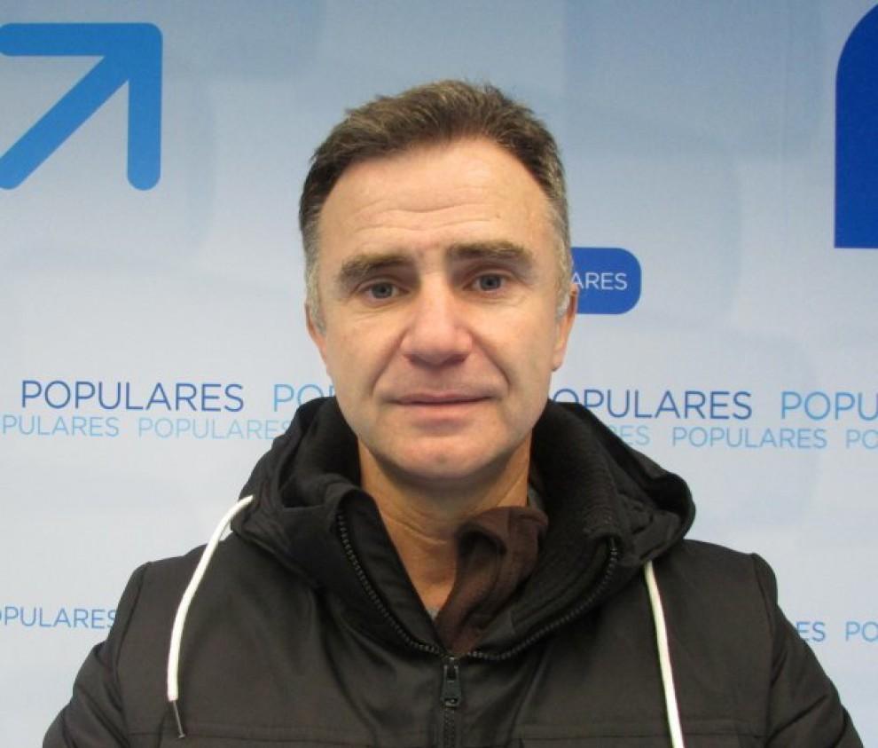 L'alcalde de Fuenllana, Salvador Dueñas.