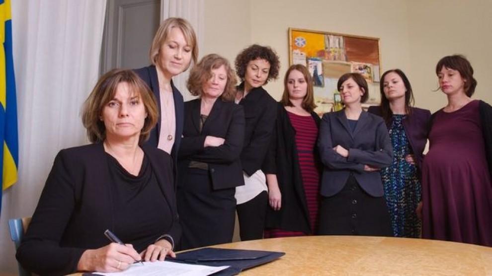 La viceprimera ministra sueca es mofa de Trump amb aquesta fotografia