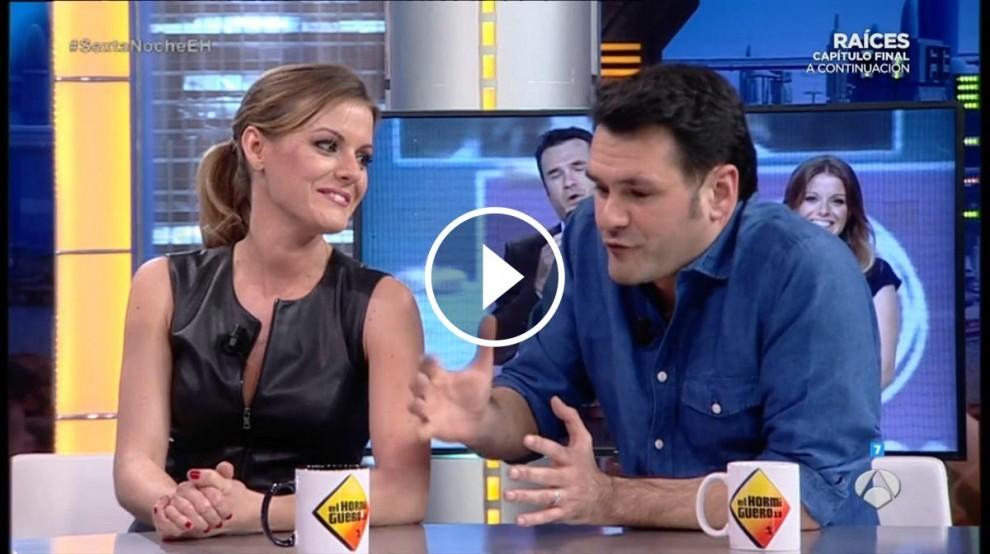 Vídeo d'Andrea Ropero i Iñaki López a 'El Hormiguero'