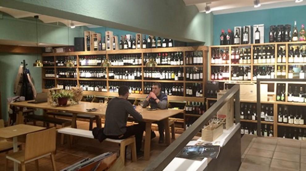 Bar de vins Matos, a Barcelona