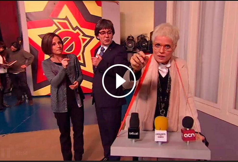 Ana Magaldi ofereix una roda de premsa