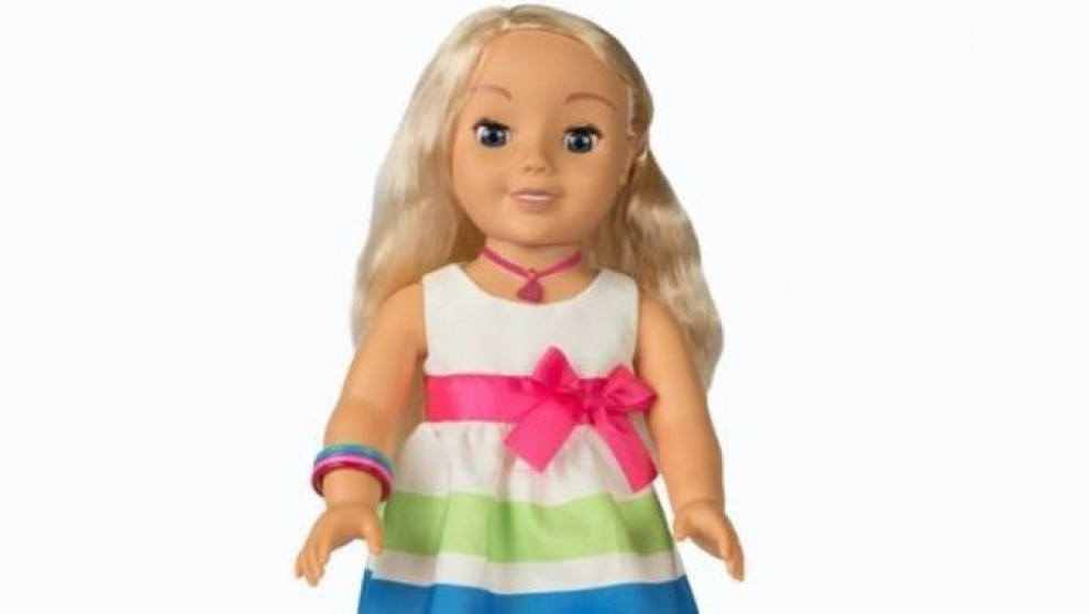 Imatge de la nina que ha aixecat reticències
