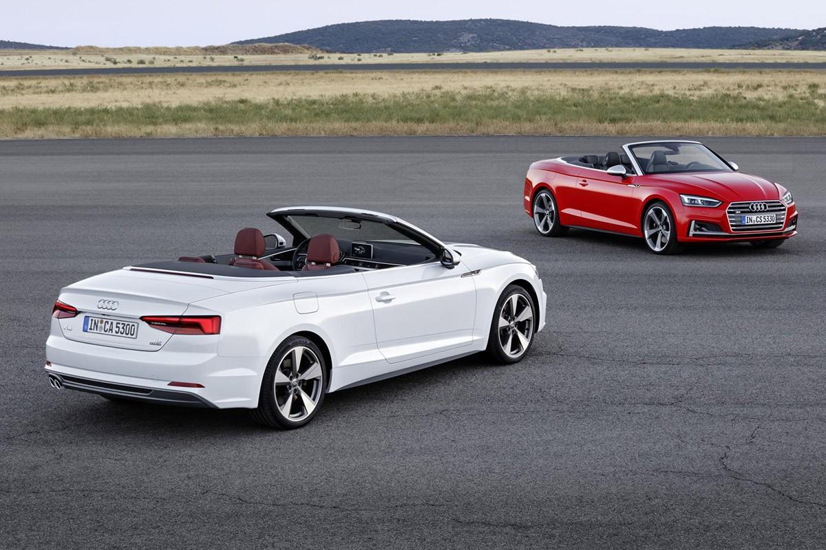 El nou Audi A5 Cabrio completa la família A5 en la seva segona generació