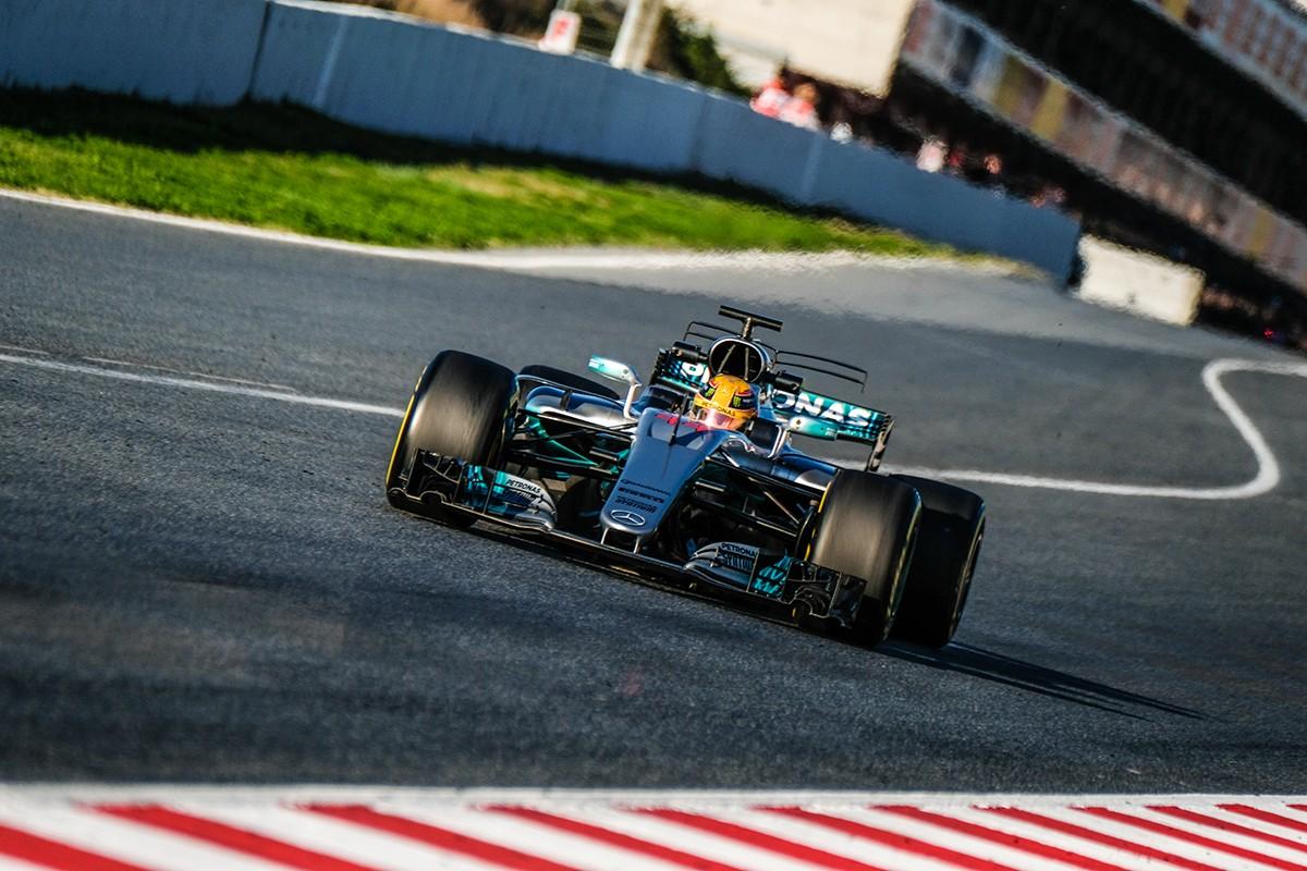 Els Mercedes han marcat el ritme avui