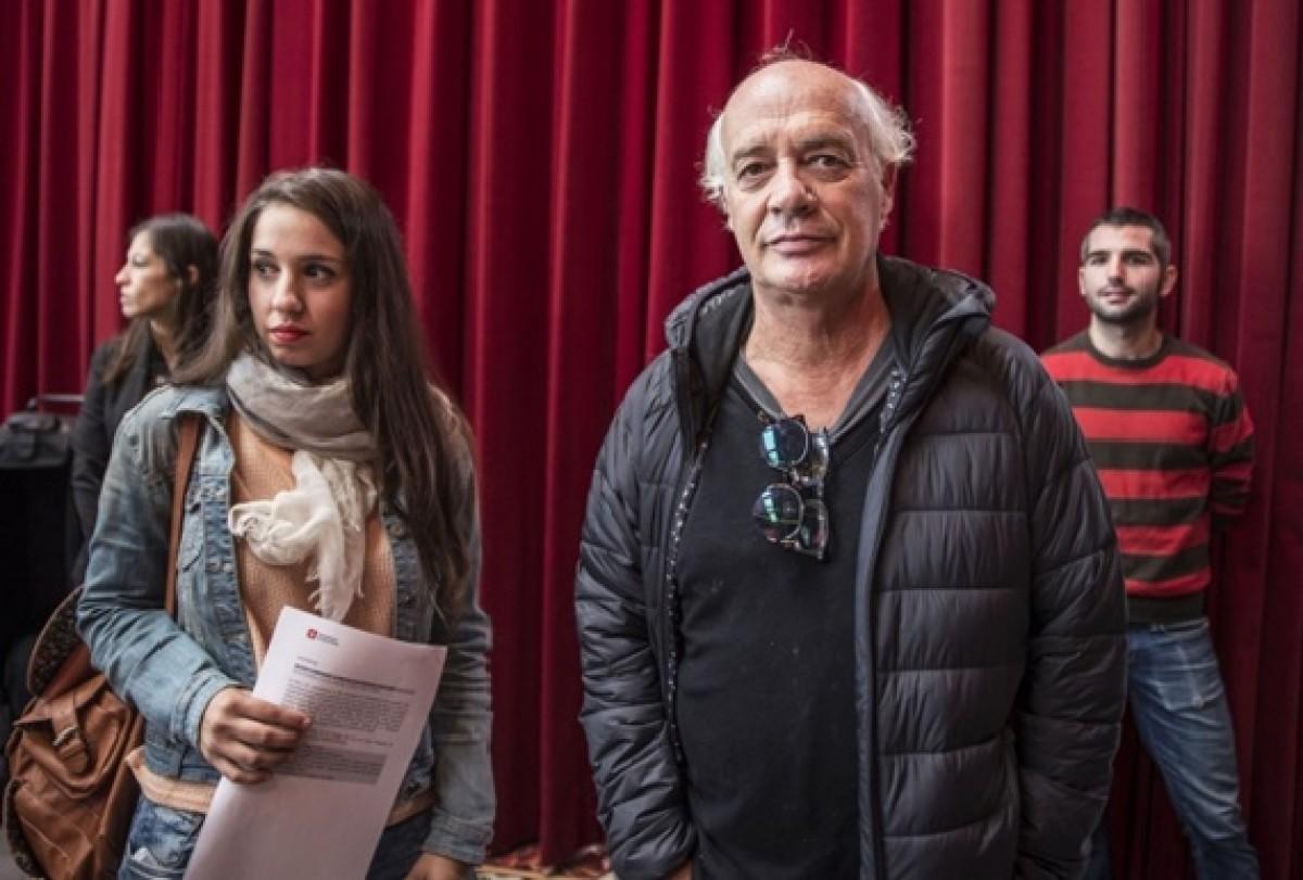 Joan Isaac i Gemma Humet a la presentació de l'acte