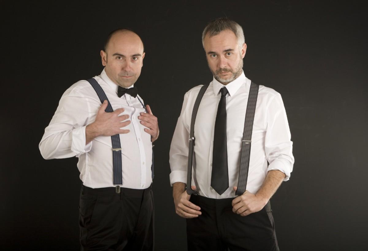 Carles Xuriguera i Fel Faixedas, presentadors dels Premis Enderrock