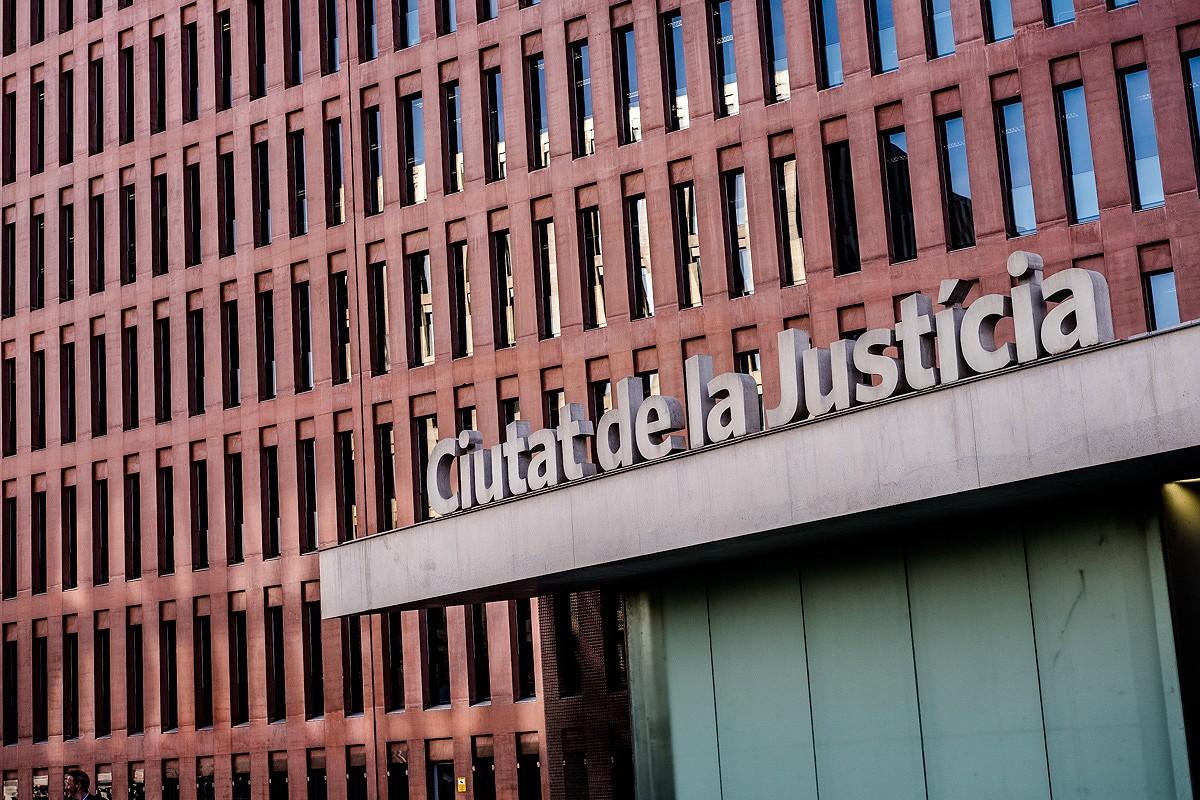 La Ciutat de la Justícia, en una imatge d'arxiu