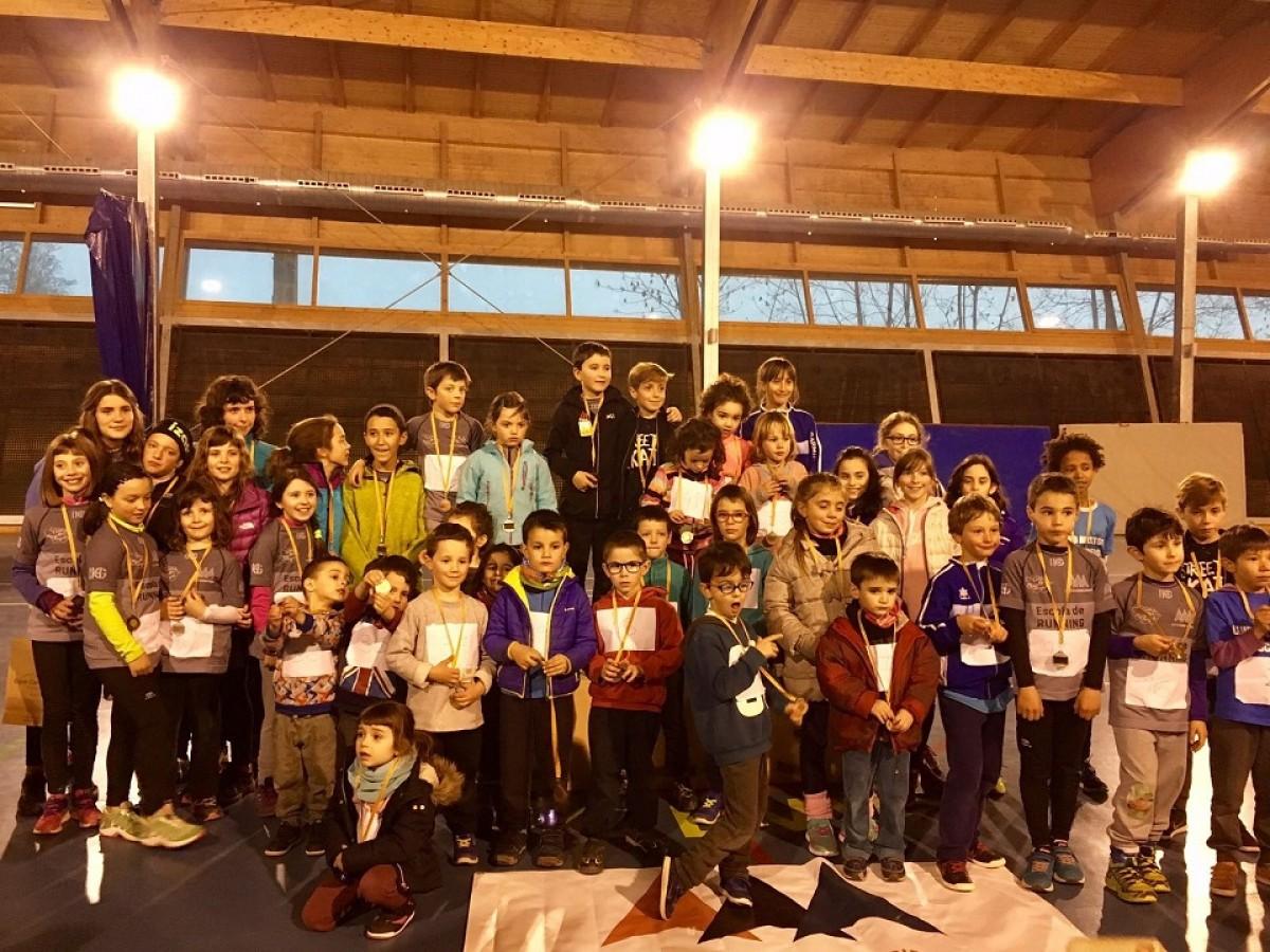 Lliurament de premis a tots els participants de la competició