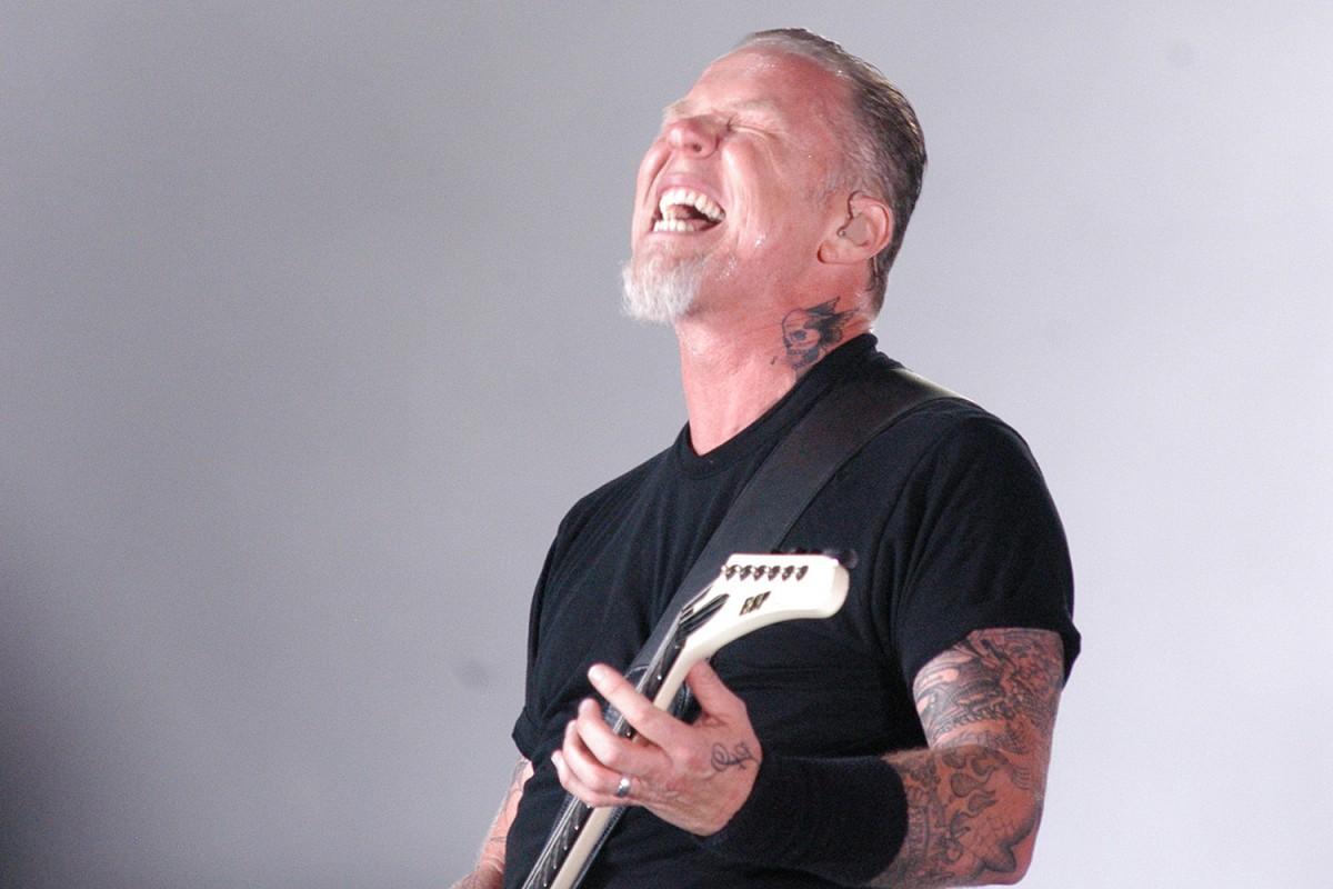 James Heatfield en el seu últim concert a Barcelona l'any 2009