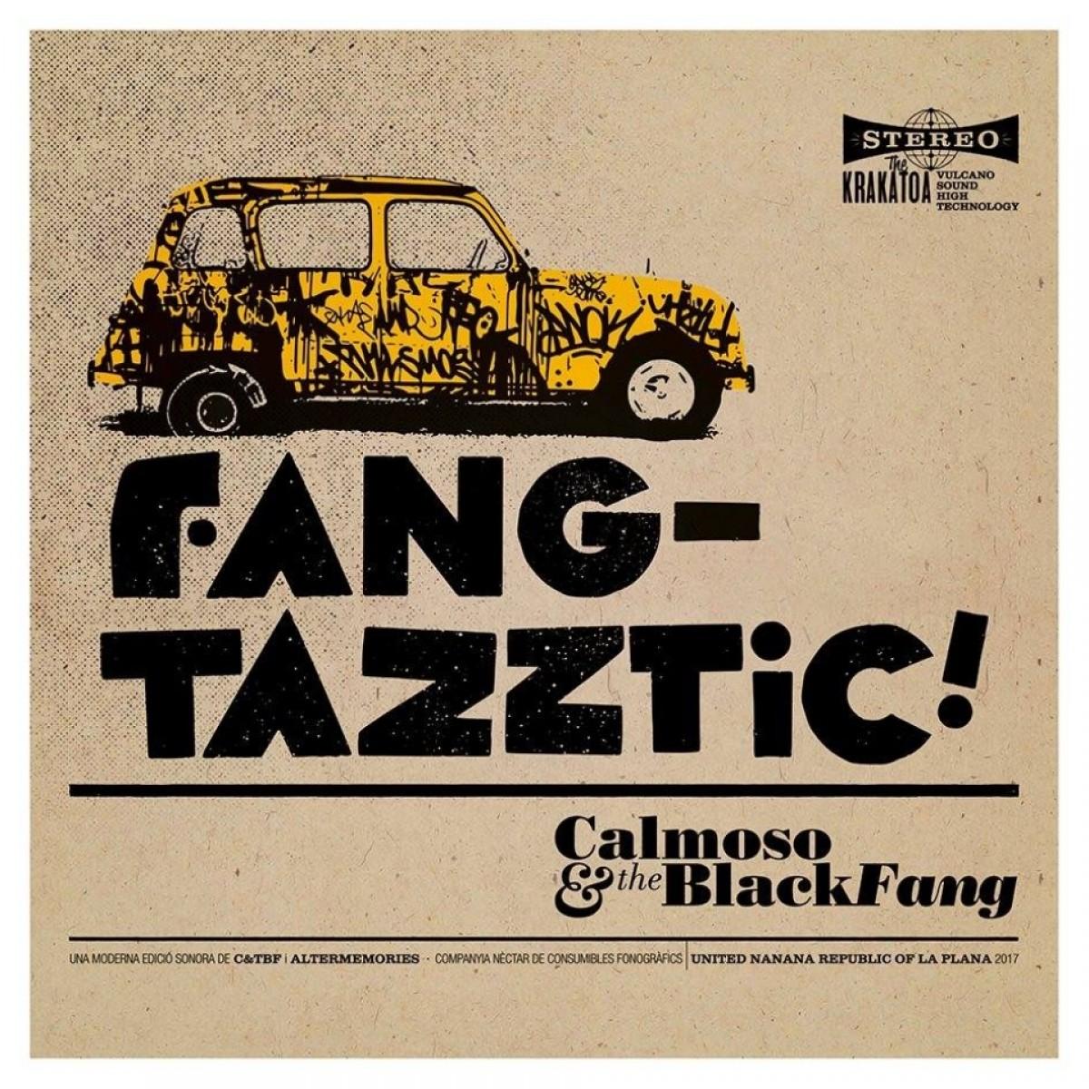 Portada de «Funktazztic!» de Calmoso & The Black Fang