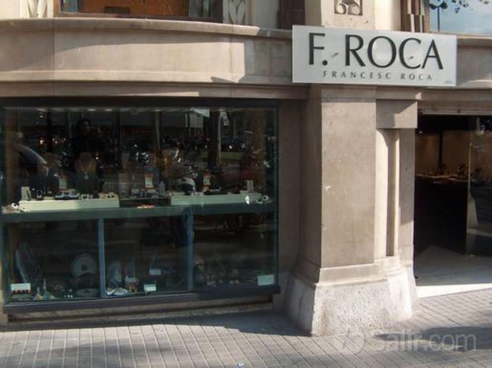 La façana de la joiera Francesc Roca Diamants del Passeig de Gràcia de Barcelona