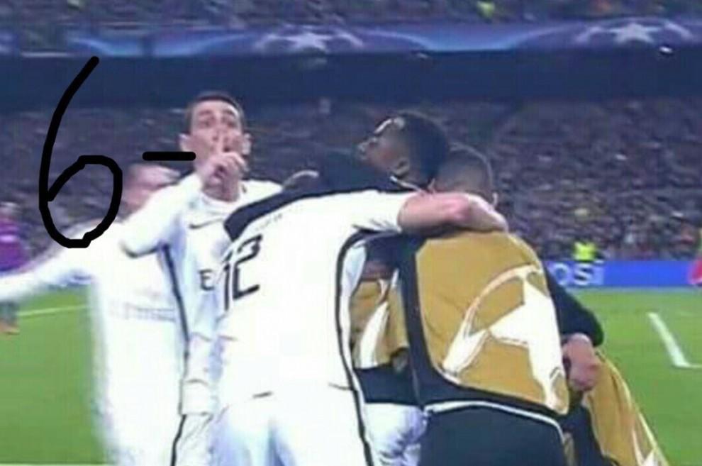 Twitter es va mofar de Di María, que va fer callar el Camp Nou després que el PSG marqués el 3 a 1.