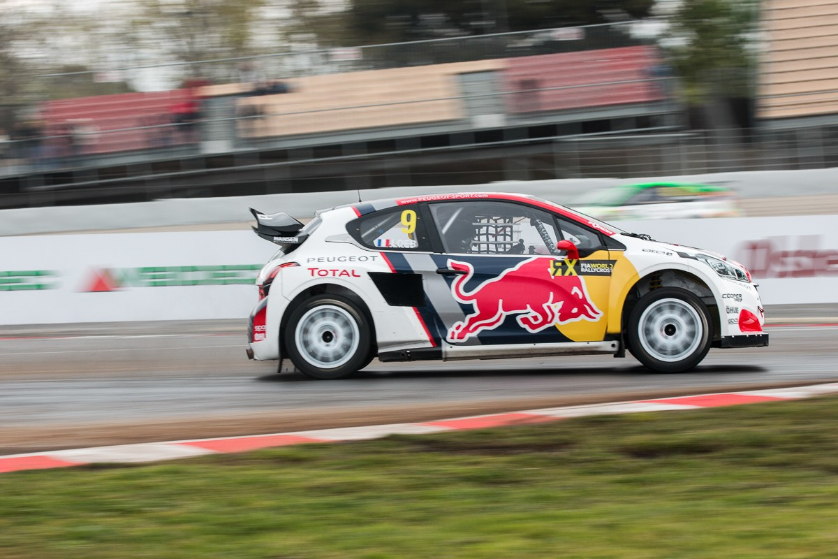 Loeb amb el Peugeot 208