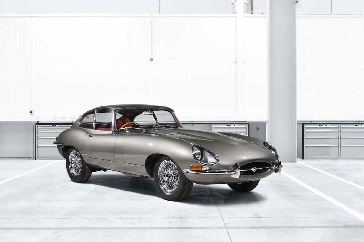 El primer E-type 'Reborn', un Series I Fixed Head Coupé 4.2 de 1965, es presentarà a la Techno-Classica d'Essen