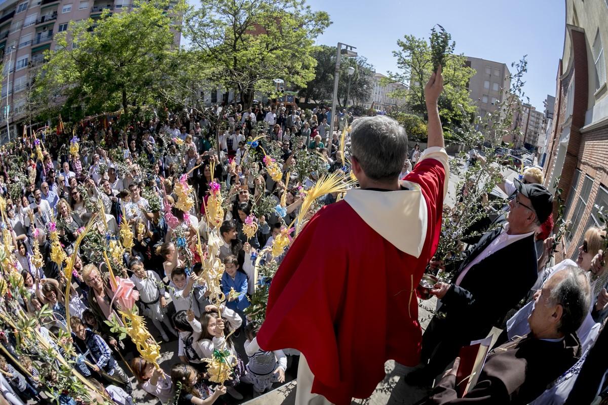 Benedició de la palma s Sabadell