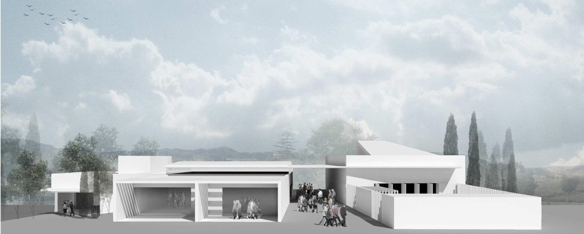 Projecte del tanatori - crematori de Sant Fruitós de Bages que no veurà la llum