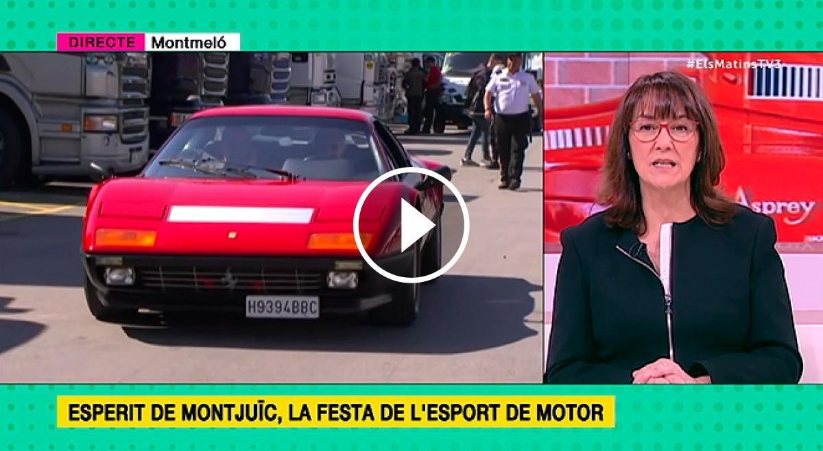 TV3 s'ha traslladat al Circuit de Barcelona-Catalunya