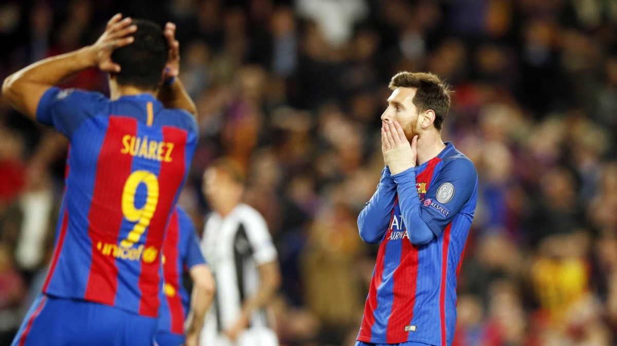 Leo Messi i Luis Suárez, vestits de blaugrana, en una imatge d'arxiu.