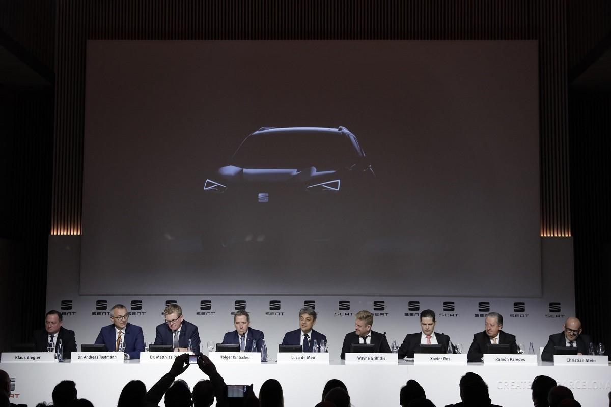 Seat comercialitzarà el seu nom model el 2018 i encara no està decidit el nom.