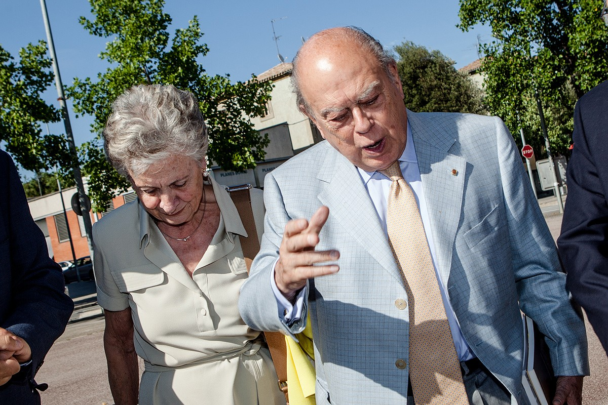 Marta Ferrusola i Jordi Pujol, en una imatge d'arxiu
