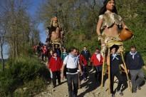 Els Gegants de Moià celebren 10 anys tornant a les Coves del Toll-Teixonera