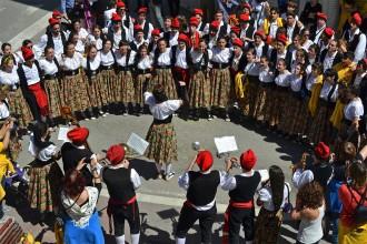 Súria s'aboca al carrer per celebrar Diumenge de Pasqua amb les Caramelles