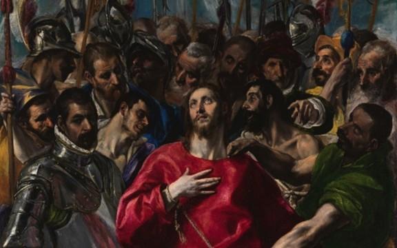 El Greco, amb la mà al pit