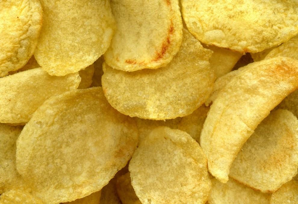 Patates xips.