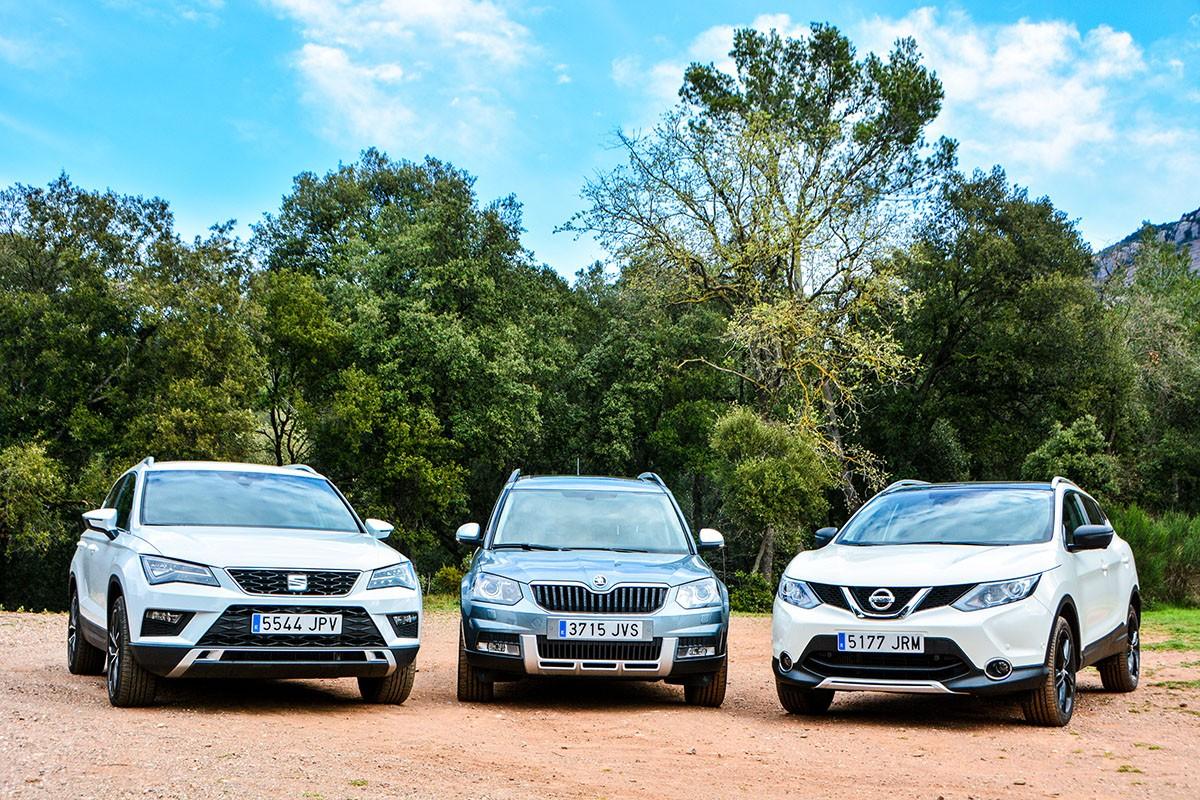 Tres SUV amb moltes qualitats per seduir al mercat