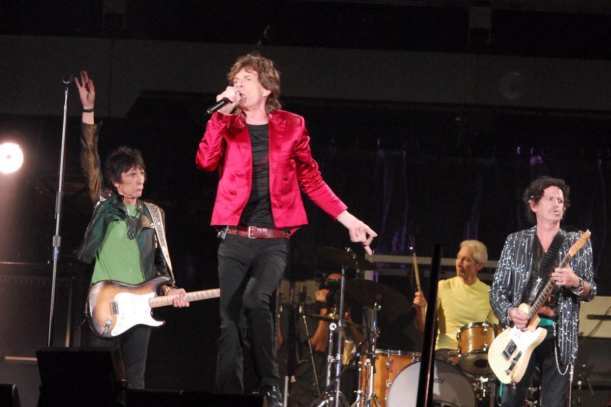 The Rolling Stones a l'Estadi Lluís Companys l'any 2007