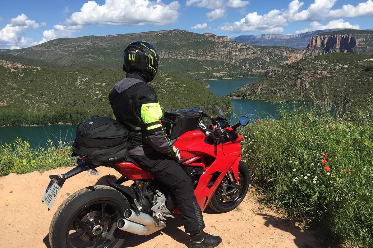 La Ducati SuperSport a Camarasa