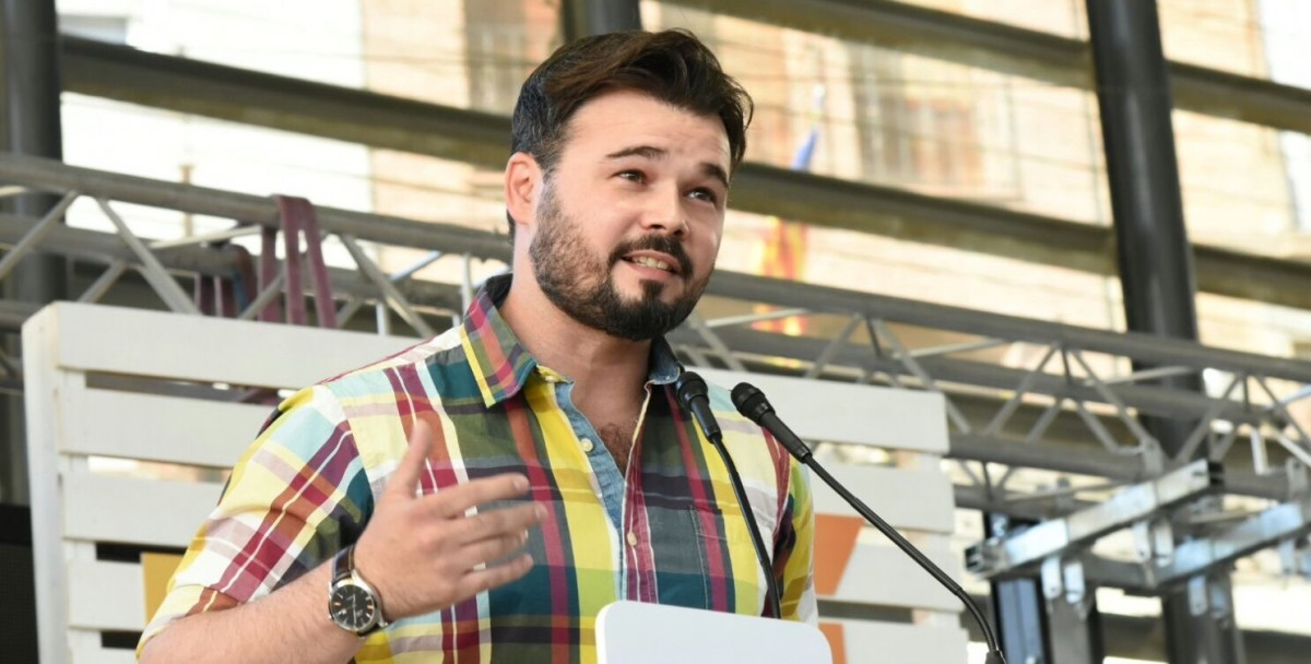 Gabriel Rufián, en una foto d'arxiu