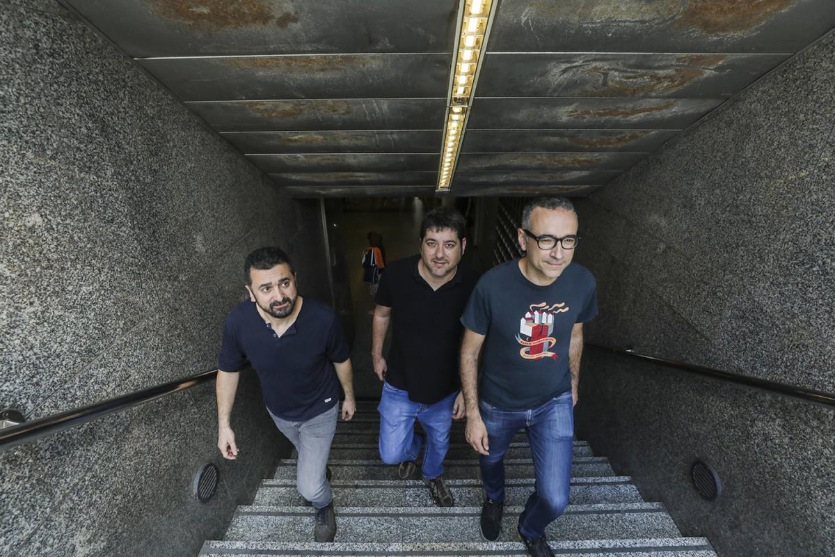 Feliu Ventura, Josep Nadal i Xavier Sarria