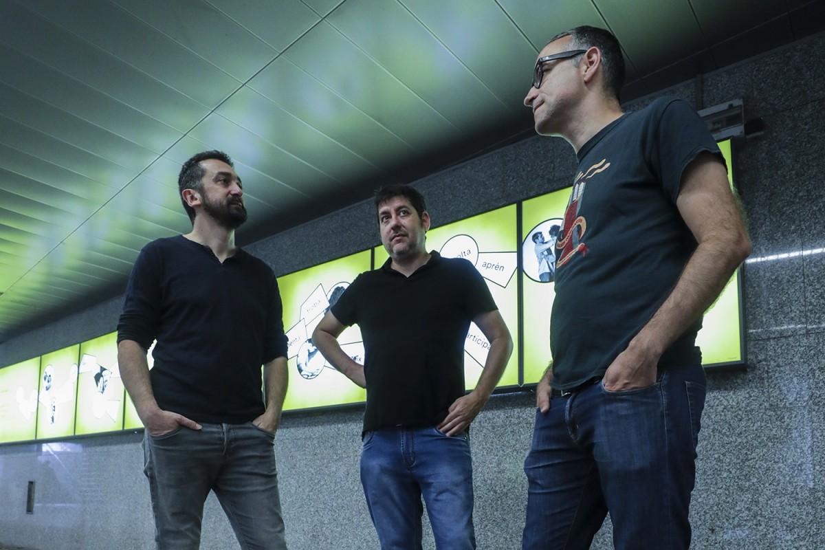 Josep Nadal, Feliu Ventura i Xavier Sarrià oferiran un recital a tres bandes al «Feslloch a banda»