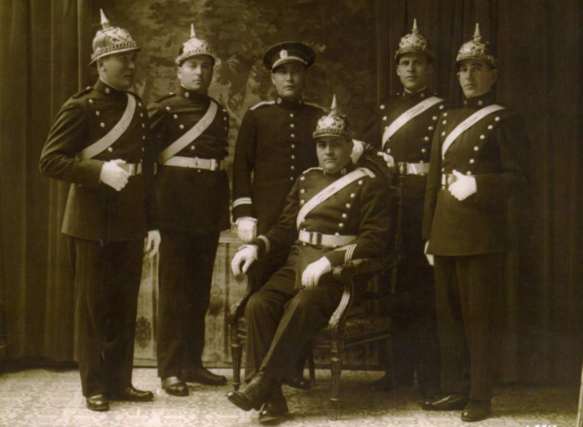 Agents de policia a Sabadell, l'any 1910