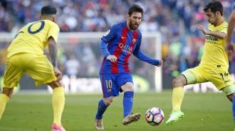 El Barça goleja el Vila-real i continua la lluita per la Lliga (4-1)